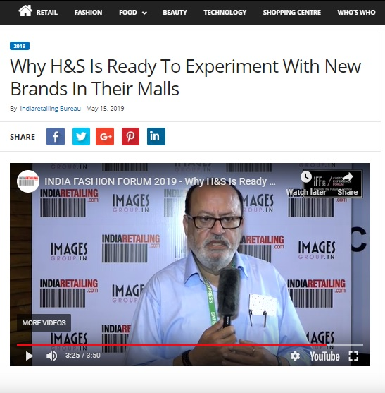 Why H&S Is Ready To Experiment With New Brands In Their Malls